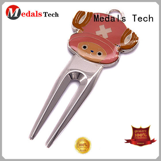 Medals Tech keychain golf divot tool design for add on sale