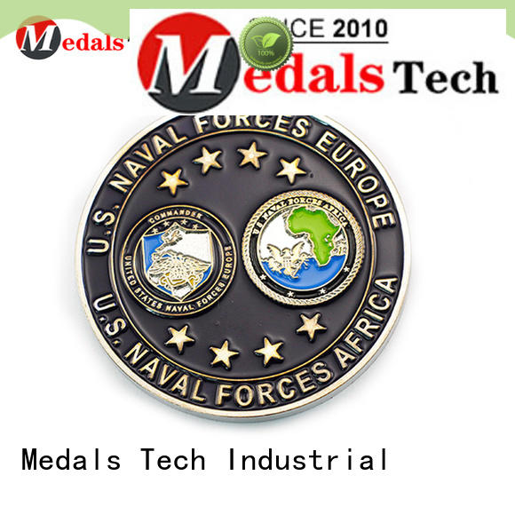 Medals Tech 3d challenge coin factory price for collection