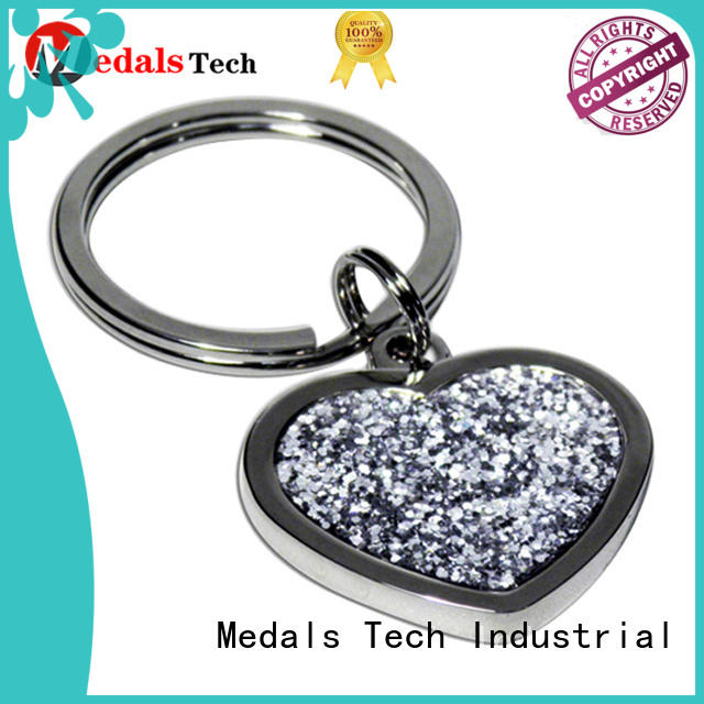 plated metal key ring metal customized for promotion
