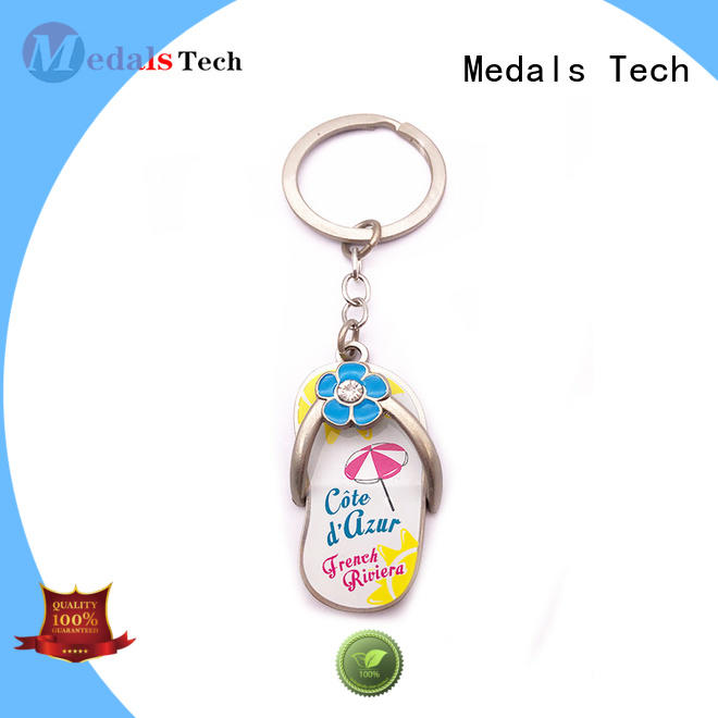 Medals Tech transparent metal keychains manufacturer for promotion
