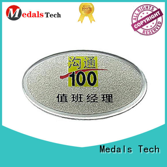Medals Tech embossed mens suit pins design for add on sale