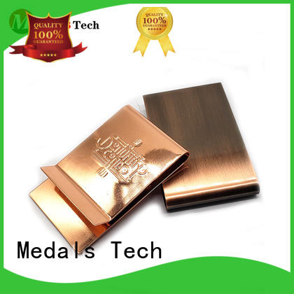 Medals Tech price good quality money clip with good price for woman