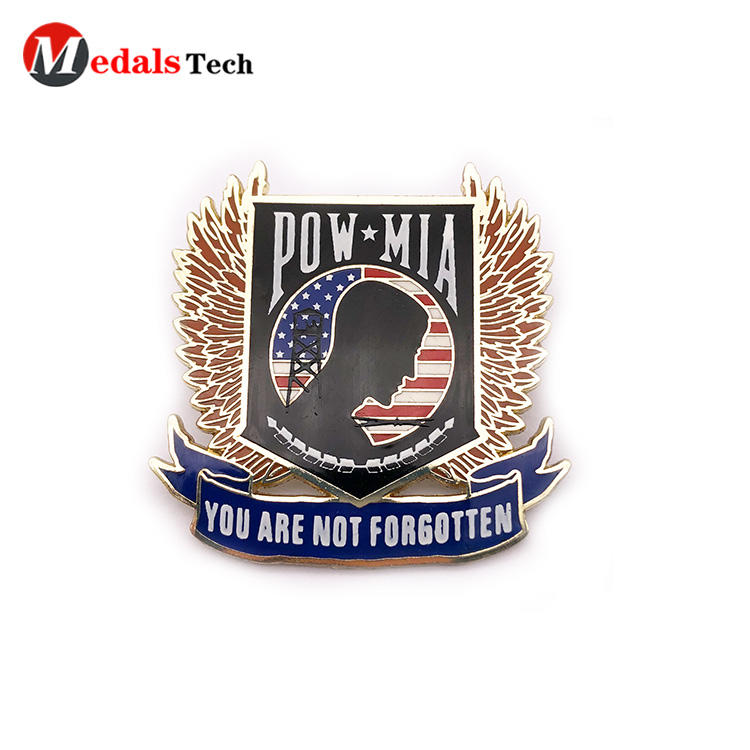 Medals Tech alloy custom lapel pins cheap design for woman-3