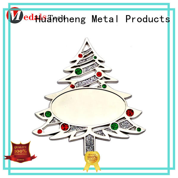 tag Synthetic Enamel glitter tree metal gifts Huancheng