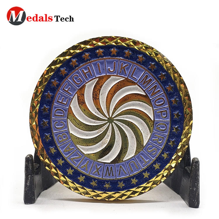 Medals Tech coin unit challenge coins wholesale for add on sale-2