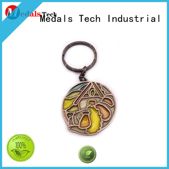 antique metal keychains leather series for man
