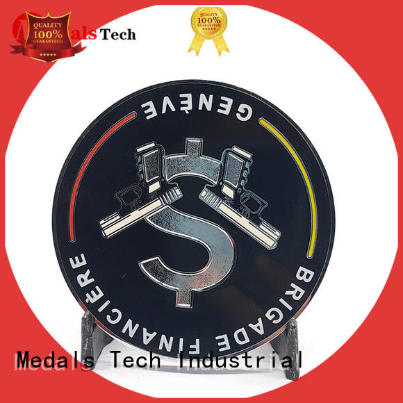 Medals Tech challenge coin holder factory price for collection