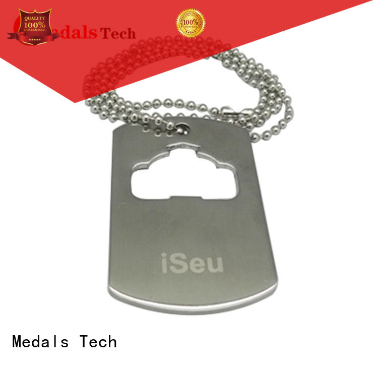 Medals Tech silver dog tags near me directly sale for add on sale