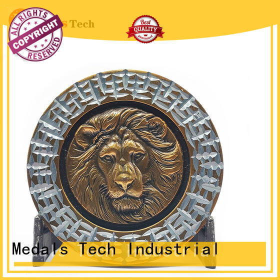 Medals Tech quality world challenge coins personalized for add on sale