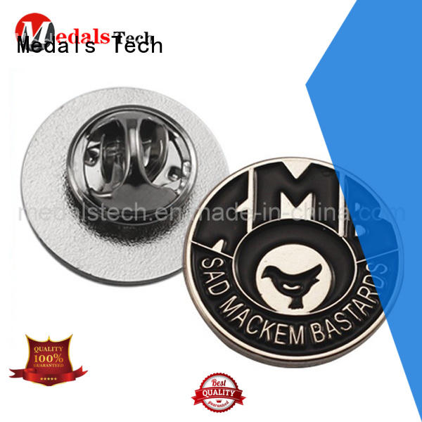 Medals Tech epoxy suit lapel pins factory for add on sale