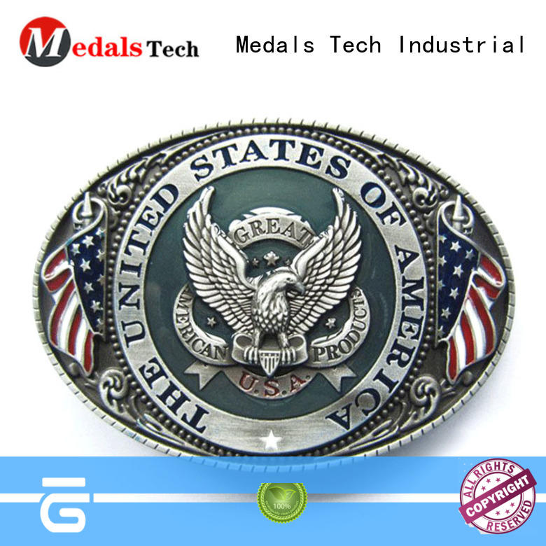 Medals Tech safe custom belt buckles factory price for household