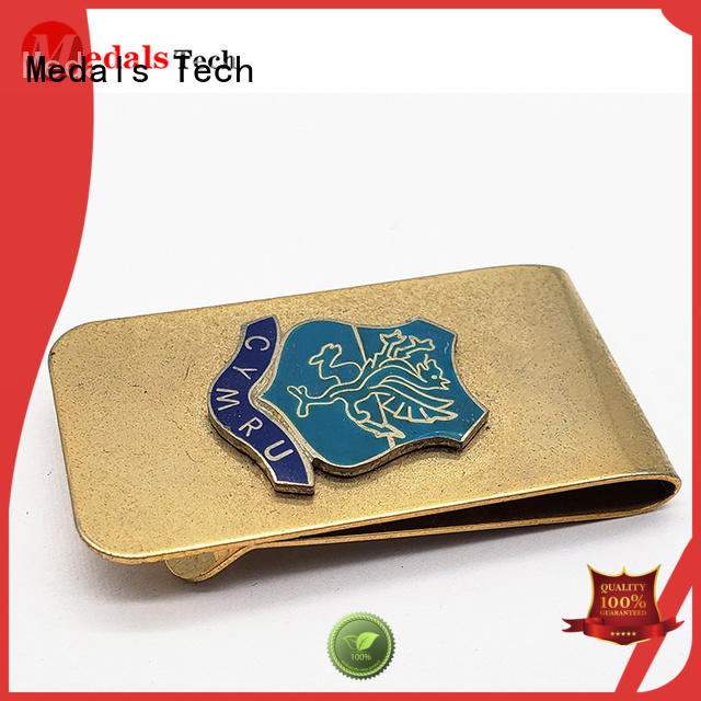 Medals Tech epoxy trifold wallet with money clip factory for woman