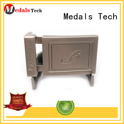 Medals Tech silver custom belt buckles factory price for teen