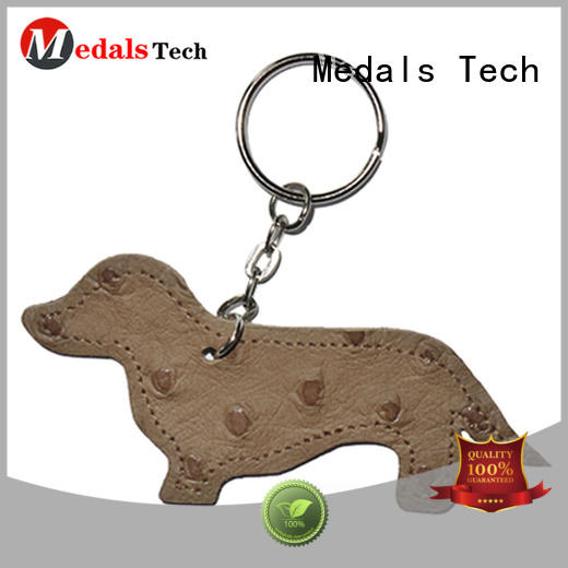 Medals Tech logo name keychains directly sale for commercial