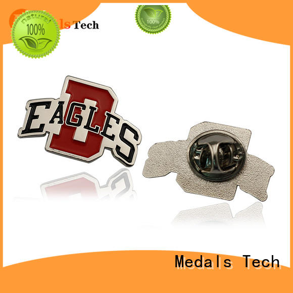 Medals Tech custom lapel pins cheap with good price for man