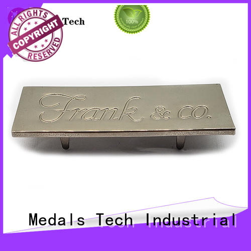 domed steel name plates cards design for woman