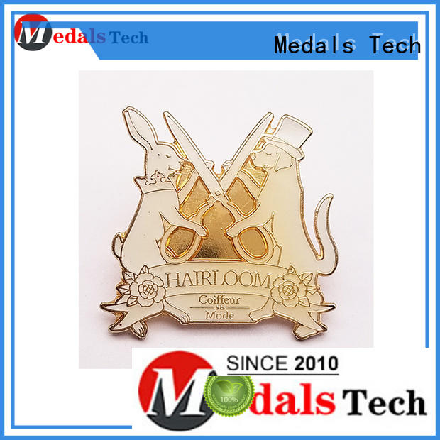 Medals Tech sample custom lapel pins cheap with good price for adults