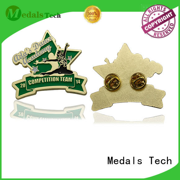 Medals Tech epoxy mens lapel pin with good price for adults