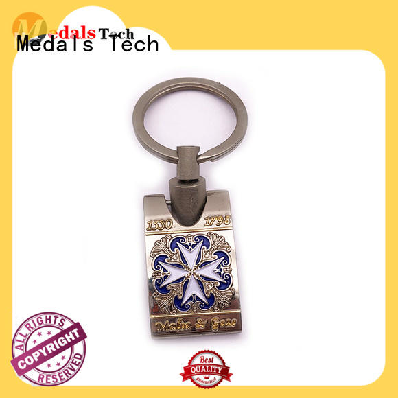 Medals Tech copper cool keychains for guys series for souvenir