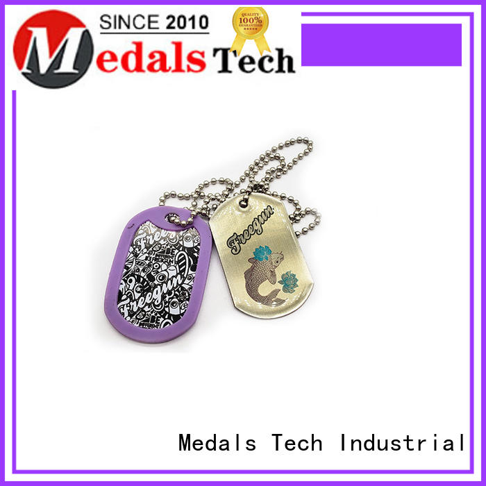plating cute dog id tags zinc manufacturer for boys