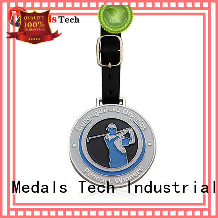 Medals Tech shinny personalized golf bag tags series for man