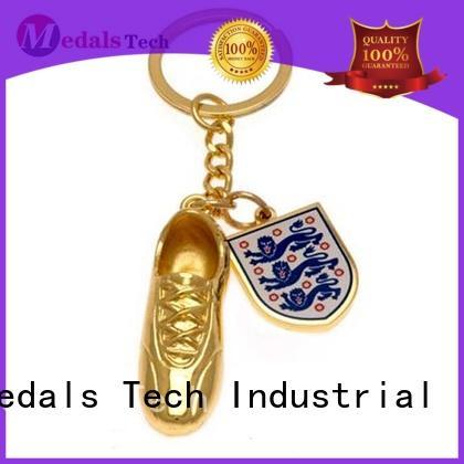 Medals Tech embossed metal key ring manufacturer for promotion