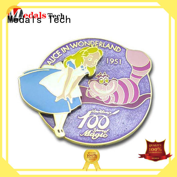 Medals Tech quality quality lapel pins design for add on sale