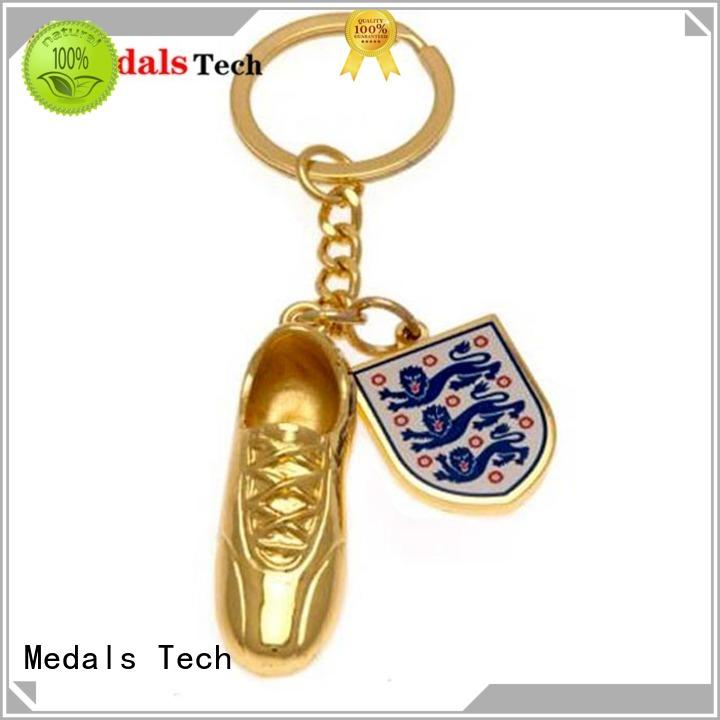 Medals Tech plated novelty keyrings series for commercial