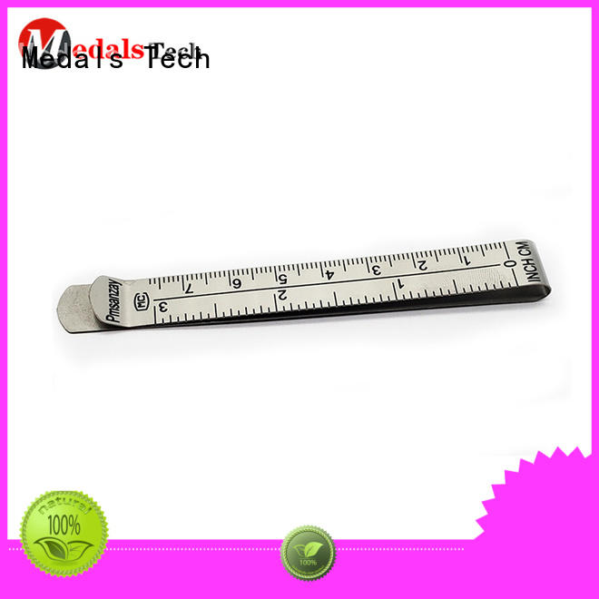Medals Tech promotional non magnetic money clip design for woman