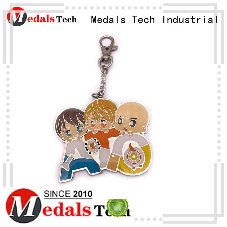 Medals Tech customization cool keychains for guys manufacturer for add on sale