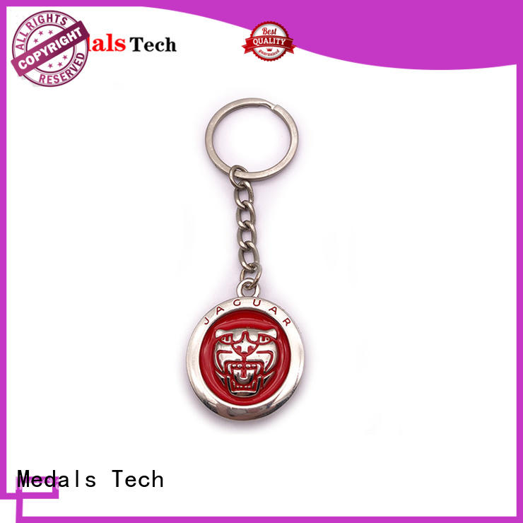 Medals Tech cartoon name keychains directly sale for man