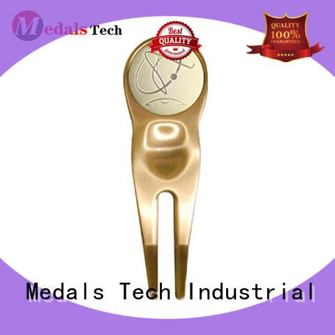 Medals Tech vintage golf divot tool design for man
