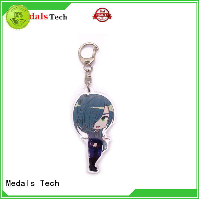 Medals Tech map keychain supplies series for adults