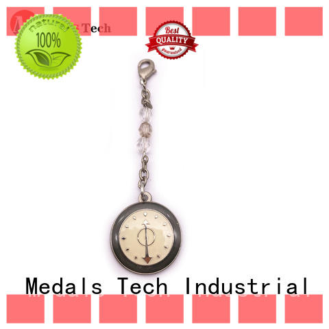 Medals Tech shiny metal keychains series for woman