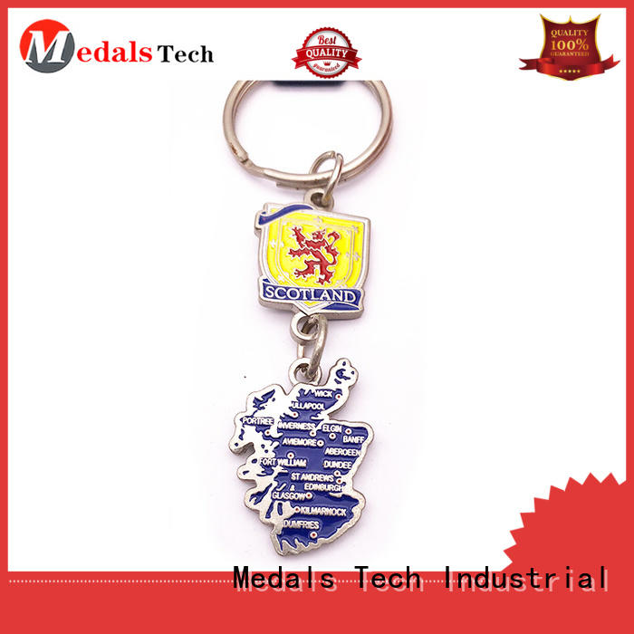 Medals Tech bottle leather keychain directly sale for adults