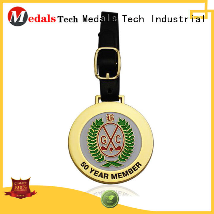 personalized golf bag name tags belt for adults Medals Tech