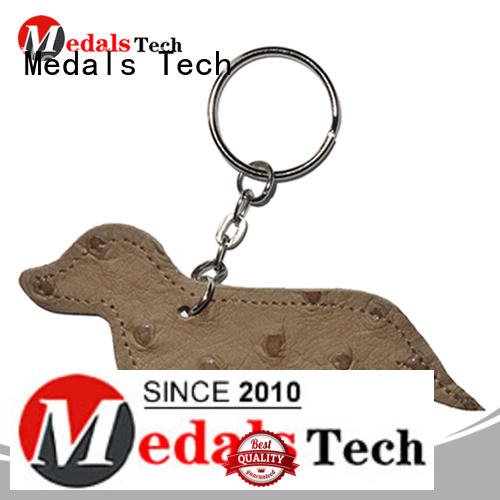 Medals Tech silver cool keychains for guys from China for add on sale
