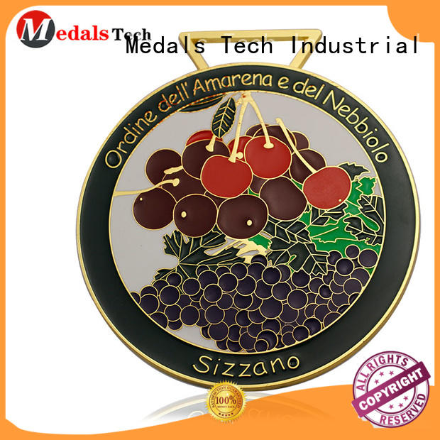 plated custom medals school supplier for commercial