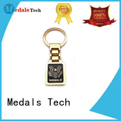 Medals Tech metal key ring series for man