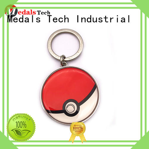 Medals Tech plated novelty keyrings from China for promotion