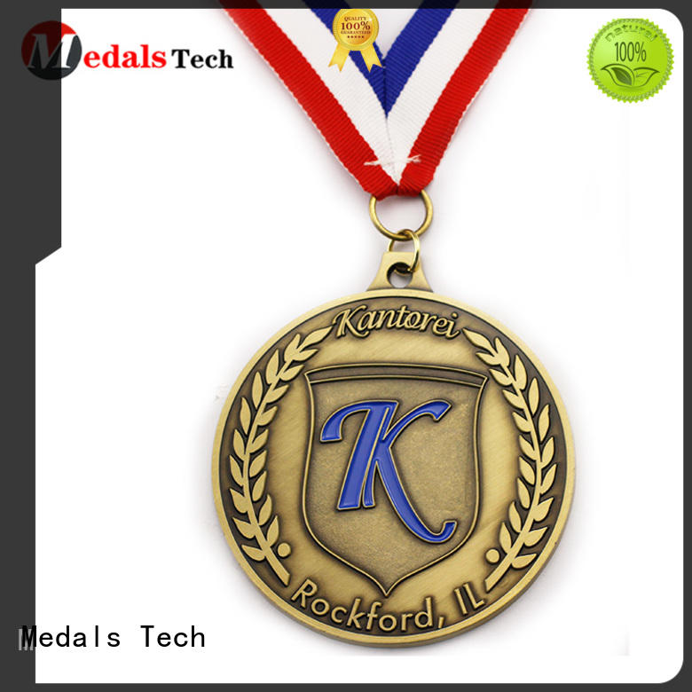 Medals Tech running custom made medals wholesale for promotion
