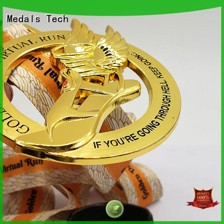 Medals Tech die casting silver medal personalized for commercial