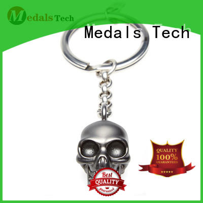 Medals Tech coated novelty keyrings directly sale for man