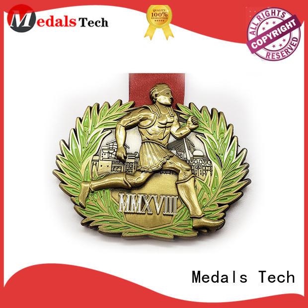 die casting custom running medals matte supplier for promotion