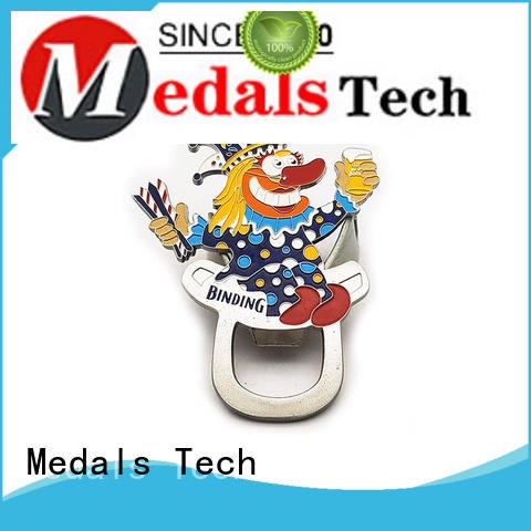 Medals Tech shinny custom bottle openers customized for commercial