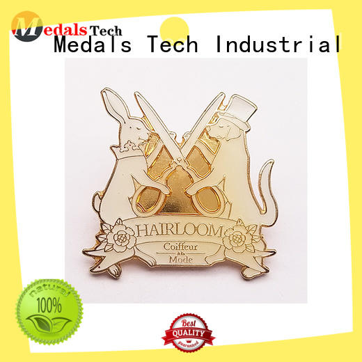 Medals Tech chinese mens lapel pin with good price for add on sale