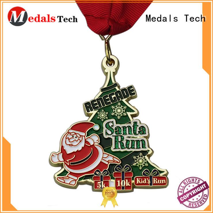 Medals Tech hollow running metals supplier for souvenir