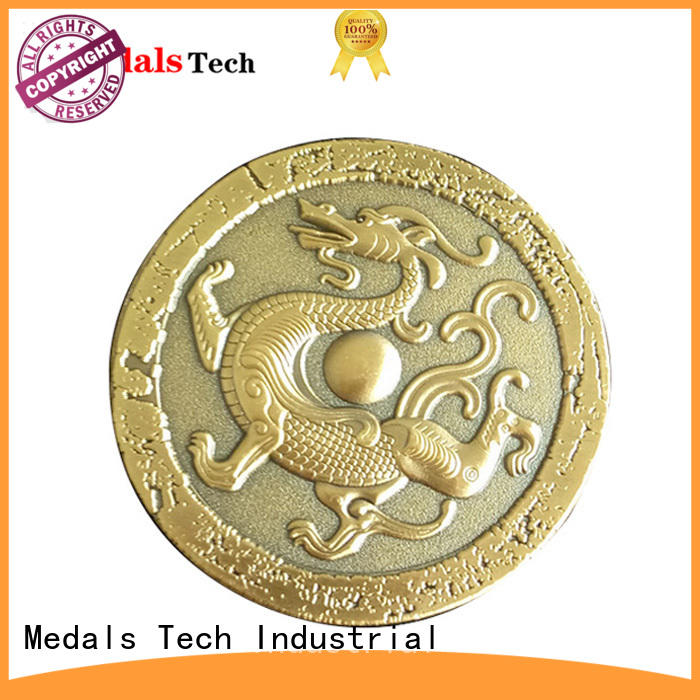 Hot selling custom cheap gold plated metal game coins