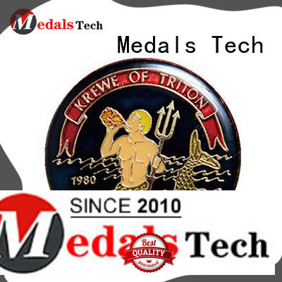 Medals Tech embossed unit challenge coins factory price for collection