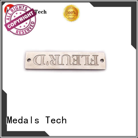Medals Tech coating name plate design factory for woman